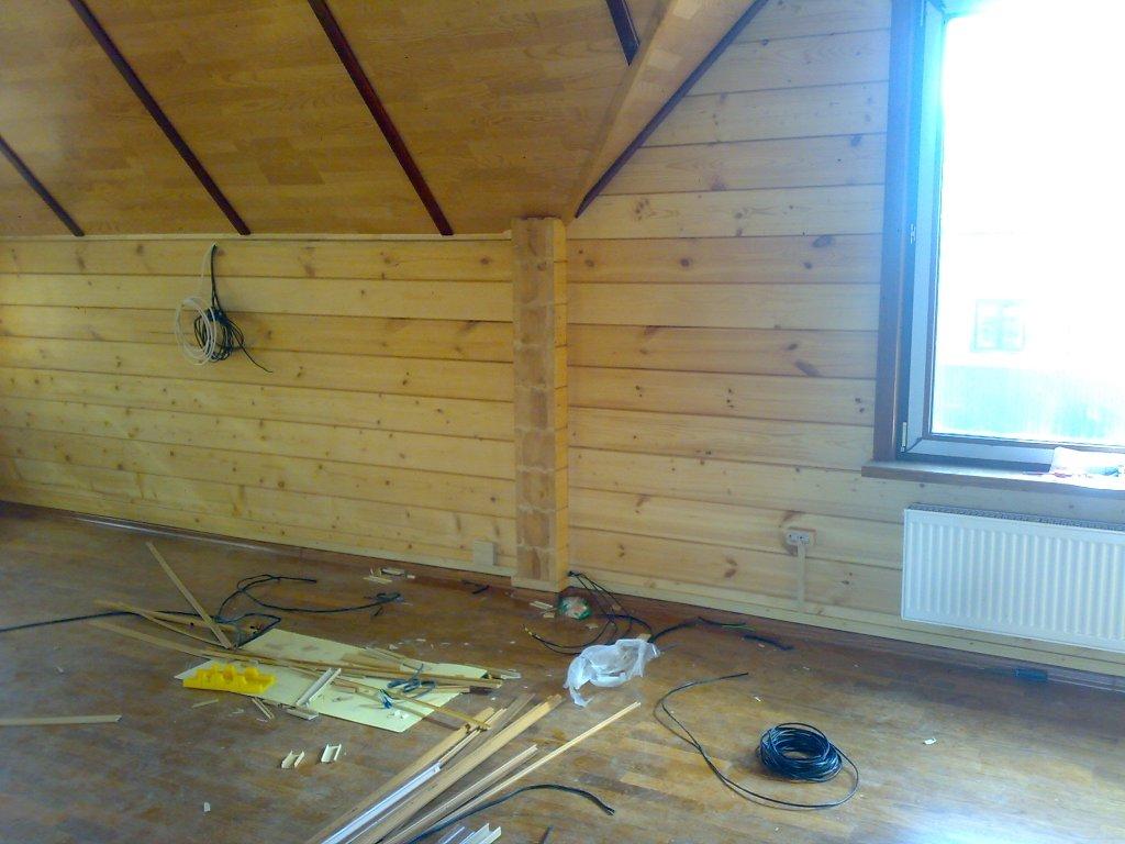 Электрика в деревянном доме под ключ стоимость